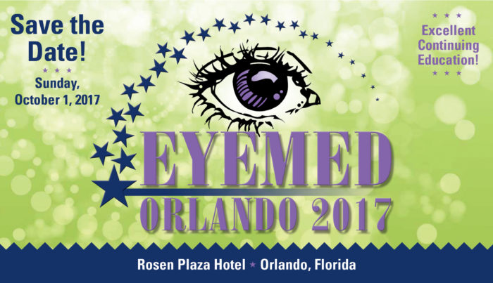 Save the date of October 1 for EyeMed 2017