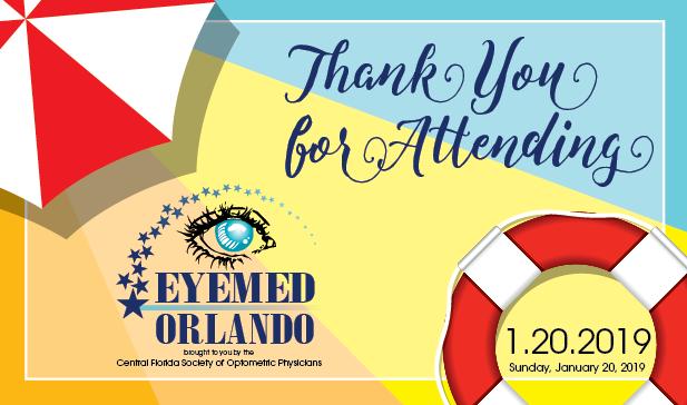 Thank you for attending EyeMed Education Seminar